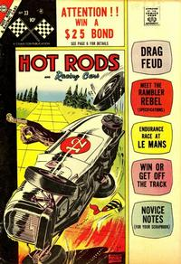 Cover Thumbnail for Hot Rods and Racing Cars (Charlton, 1951 series) #33