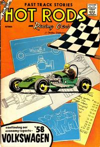 Cover Thumbnail for Hot Rods and Racing Cars (Charlton, 1951 series) #37