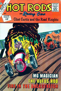 Cover Thumbnail for Hot Rods and Racing Cars (Charlton, 1951 series) #58