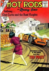 Cover Thumbnail for Hot Rods and Racing Cars (Charlton, 1951 series) #60
