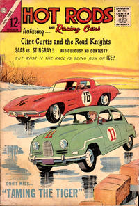 Cover Thumbnail for Hot Rods and Racing Cars (Charlton, 1951 series) #71