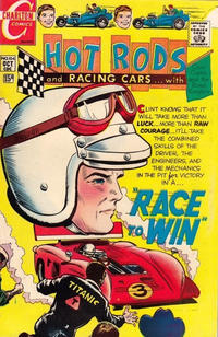 Cover Thumbnail for Hot Rods and Racing Cars (Charlton, 1951 series) #104
