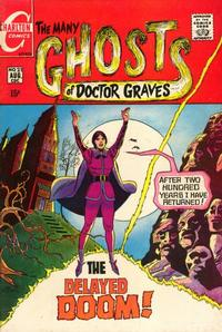 Cover for The Many Ghosts of Dr. Graves (Charlton, 1967 series) #21