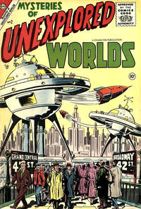 Cover Thumbnail for Mysteries of Unexplored Worlds (Charlton, 1956 series) #2