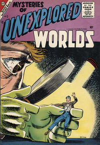Cover Thumbnail for Mysteries of Unexplored Worlds (Charlton, 1956 series) #3