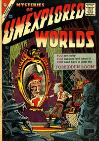 Cover Thumbnail for Mysteries of Unexplored Worlds (Charlton, 1956 series) #4