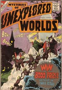 Cover Thumbnail for Mysteries of Unexplored Worlds (Charlton, 1956 series) #12