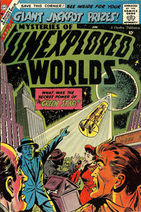 Cover Thumbnail for Mysteries of Unexplored Worlds (Charlton, 1956 series) #13