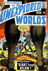 Cover Thumbnail for Mysteries of Unexplored Worlds (Charlton, 1956 series) #15