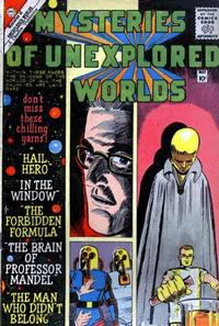 Cover Thumbnail for Mysteries of Unexplored Worlds (Charlton, 1956 series) #18