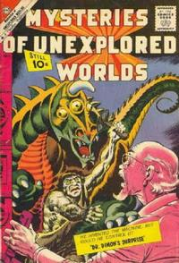 Cover Thumbnail for Mysteries of Unexplored Worlds (Charlton, 1956 series) #25