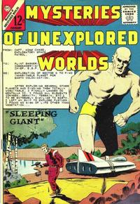 Cover Thumbnail for Mysteries of Unexplored Worlds (Charlton, 1956 series) #40