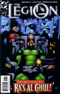 Cover Thumbnail for The Legion (DC, 2001 series) #17
