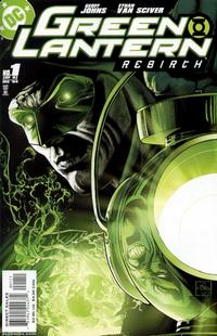 Cover Thumbnail for Green Lantern: Rebirth (DC, 2004 series) #1 [First Printing]