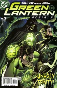 Cover Thumbnail for Green Lantern: Rebirth (DC, 2004 series) #3 [Direct Sales]