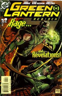Cover Thumbnail for Green Lantern: Rebirth (DC, 2004 series) #4 [Direct Sales]