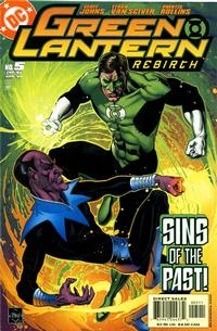 Cover Thumbnail for Green Lantern: Rebirth (DC, 2004 series) #5 [Direct Sales]