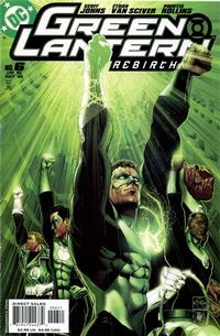 Cover Thumbnail for Green Lantern: Rebirth (DC, 2004 series) #6 [Direct Sales]