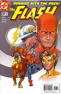 Cover Thumbnail for Flash (DC, 1987 series) #208 [Direct Sales]