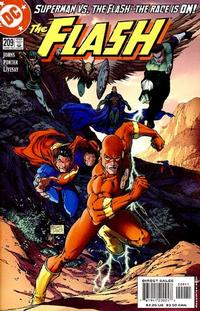 Cover Thumbnail for Flash (DC, 1987 series) #209 [Direct Sales]
