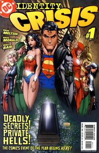 Cover Thumbnail for Identity Crisis (DC, 2004 series) #1 [1st Printing]