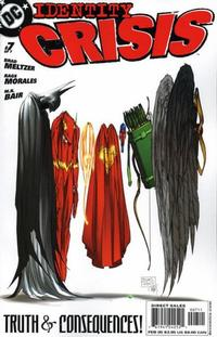 Cover Thumbnail for Identity Crisis (DC, 2004 series) #7 [First Printing]