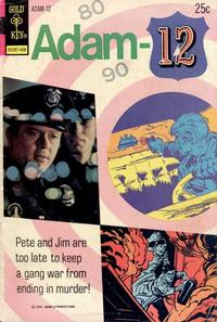 Cover Thumbnail for Adam-12 (Western, 1973 series) #4 [Gold Key Variant]