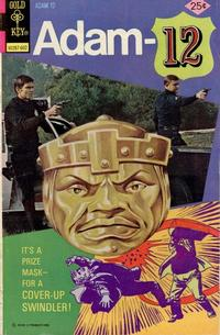 Cover Thumbnail for Adam-12 (Western, 1973 series) #10 [Gold Key Variant]
