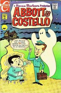 Cover Thumbnail for Abbott & Costello (Charlton, 1968 series) #13