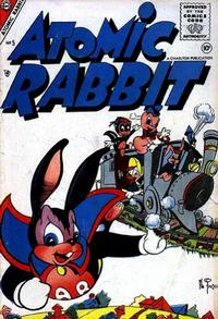 Cover Thumbnail for Atomic Rabbit (Charlton, 1955 series) #5
