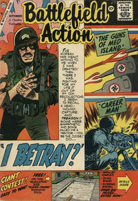 Cover for Battlefield Action (Charlton, 1957 series) #26