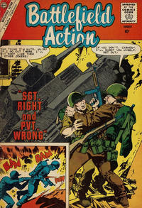 Cover Thumbnail for Battlefield Action (Charlton, 1957 series) #31