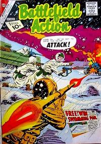 Cover Thumbnail for Battlefield Action (Charlton, 1957 series) #38