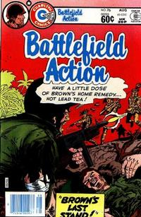 Cover Thumbnail for Battlefield Action (Charlton, 1980 series) #76