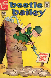 Cover Thumbnail for Beetle Bailey (Charlton, 1969 series) #78