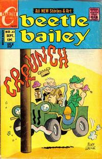 Cover Thumbnail for Beetle Bailey (Charlton, 1969 series) #83
