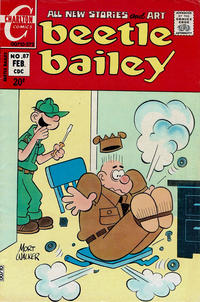 Cover Thumbnail for Beetle Bailey (Charlton, 1969 series) #87