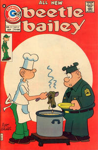 Cover Thumbnail for Beetle Bailey (Charlton, 1969 series) #112