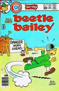 Cover Thumbnail for Beetle Bailey (Charlton, 1969 series) #119