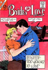 Cover Thumbnail for Brides in Love (Charlton, 1956 series) #42