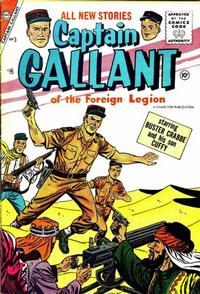 Cover Thumbnail for Captain Gallant (Charlton, 1956 series) #3