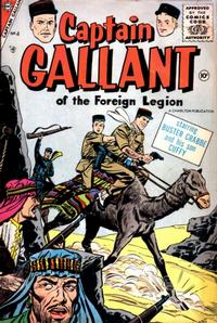 Cover Thumbnail for Captain Gallant (Charlton, 1956 series) #4