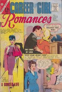 Cover Thumbnail for Career Girl Romances (Charlton, 1964 series) #28