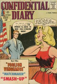 Cover Thumbnail for Confidential Diary (Charlton, 1962 series) #14