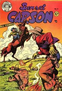 Cover Thumbnail for Sunset Carson Comics (Charlton, 1951 series) #3