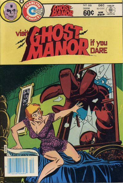 Cover for Ghost Manor (Charlton, 1971 series) #66