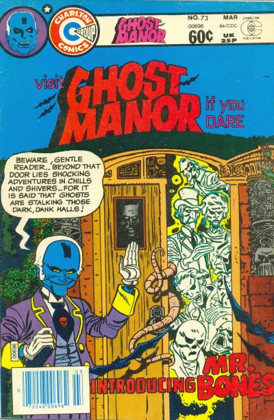 Cover for Ghost Manor (Charlton, 1971 series) #73