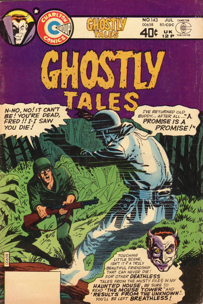 Cover for Ghostly Tales (Charlton, 1966 series) #143