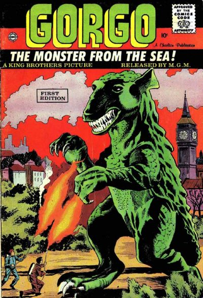 Cover for Gorgo (Charlton, 1961 series) #1