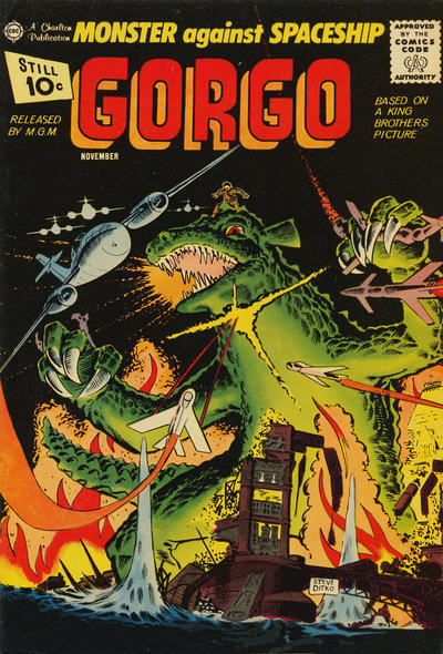 Cover for Gorgo (Charlton, 1961 series) #4 [British]
